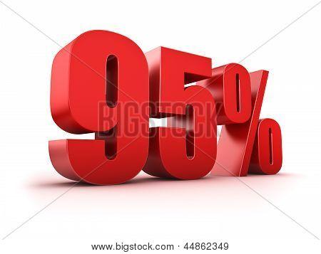 95 Por cento