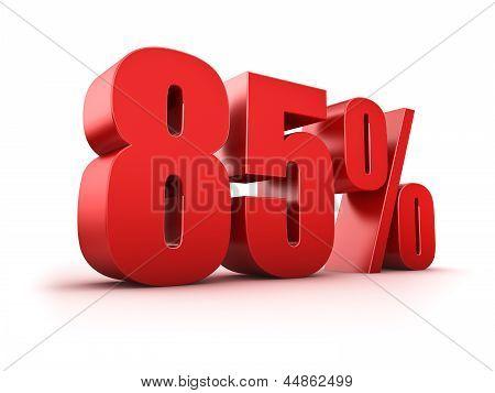 85 Por cento