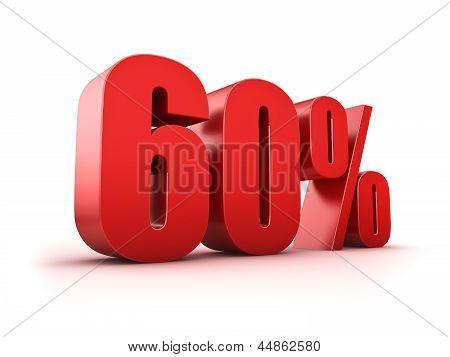 60 Por cento