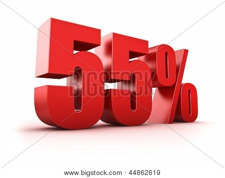 55 Por cento