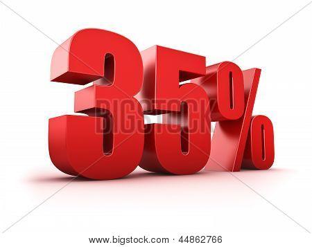 35 Por cento