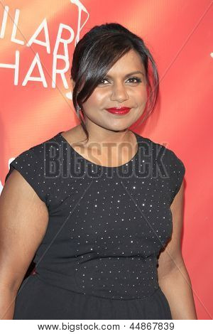 LOS ANGELES - APR 25:  Mindy Kaling arrives at the Second Annual Hilarity For Charity benefiting The Alzheimer's Association  at the Avalon  on April 25, 2013 in Los Angeles, CA