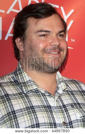 LOS ANGELES - APR 25:  Jack Black arrives at the Second Annual Hilarity For Charity benefiting The Alzheimer's Association  at the Avalon  on April 25, 2013 in Los Angeles, CA
