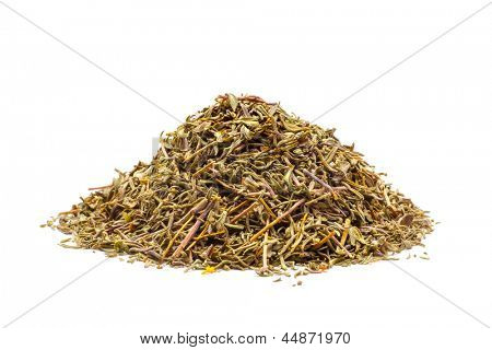 Indian spice isolated on white background