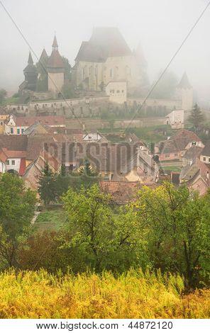 Fortified Medieval Church of Biertan, Transylvania, Romania, Europe