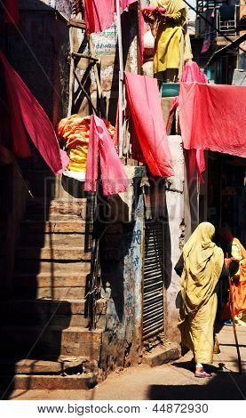 Indian street scene