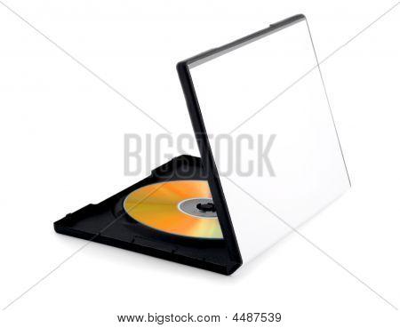 Golden Disk On Box