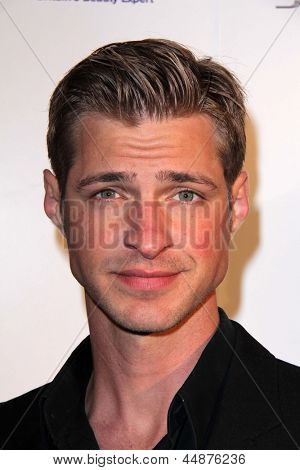 LOS ANGELES - APR 23:  Blake Graves arrives at the 7th Annual BritWeek Festival