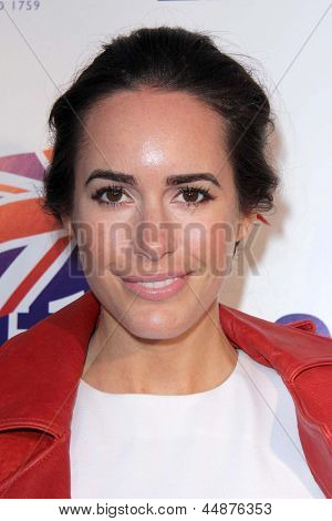 LOS ANGELES - APR 23:  Louise Roe arrives at the 7th Annual BritWeek Festival