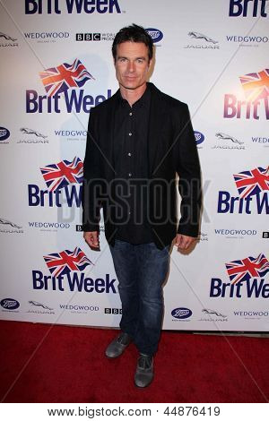 LOS ANGELES - APR 23:  Patrick Muldoon arrives at the 7th Annual BritWeek Festival