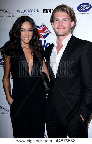 LOS ANGELES - APR 23: Terri Seymour, Clark Mellon arrives at the 7th Annual BritWeek Festival