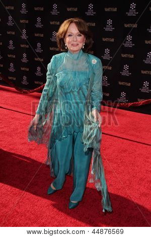 LOS ANGELES - APR 25:  Ann Blyth arrives at the TCM Classic Film Festival Opening Night Red Carpet