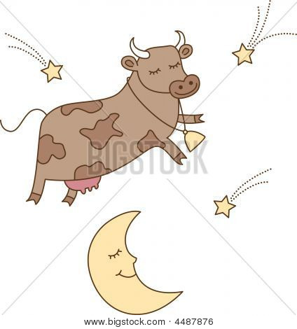 Cow jumped over moon