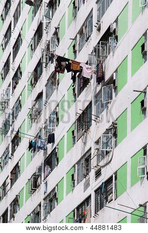 High-density public housing, Hong Kong