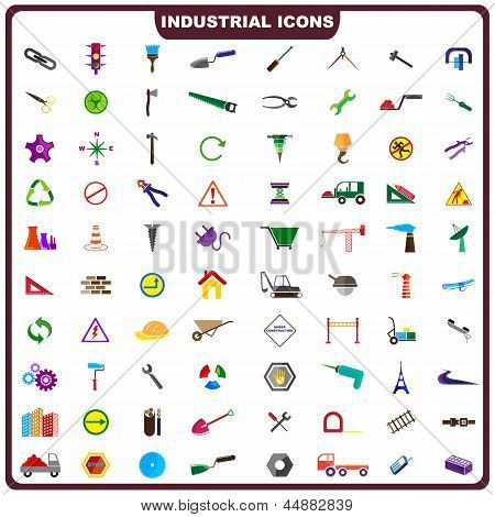 Colorful Industrial Icon
