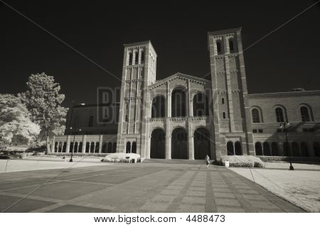 Royce Hall Infrared Sepia
