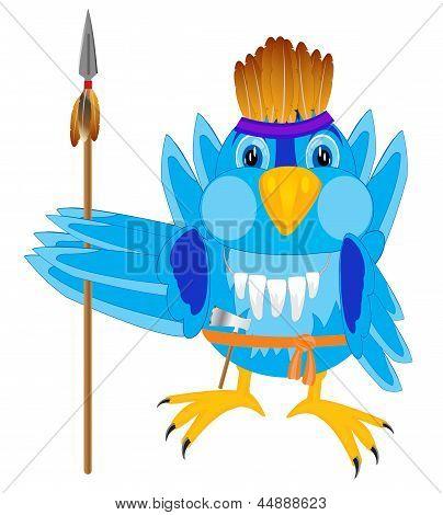 Bird In Cloth Indian