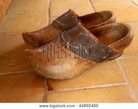 Pair of clogs