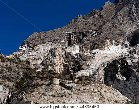 Marble Quarry - Outdoors Industrial Landscape, Italy