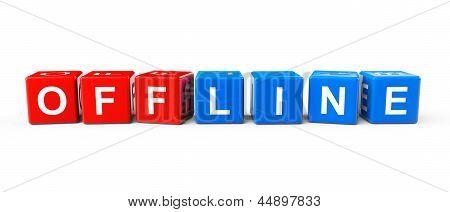Blocks With Offline Sign