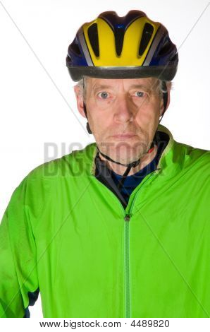 Man In Bicycle Tenue
