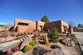 picture of hacienda  - Adobe home of Las Cruses New Mexico - JPG