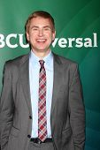 LOS ANGELES - APR 22:  Pat Kiernan at the NBCUniversal Summer Pres Day 2013 at the Huntington Langha