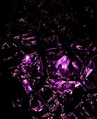Purple Shattered Glass
