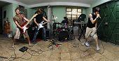 Rock Band On Garage