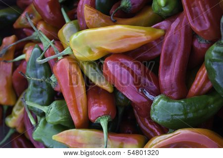 Bright Banana Peppers