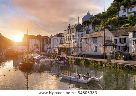 Cornish Fishing Village
