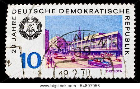 Gdr Stamp Dresden