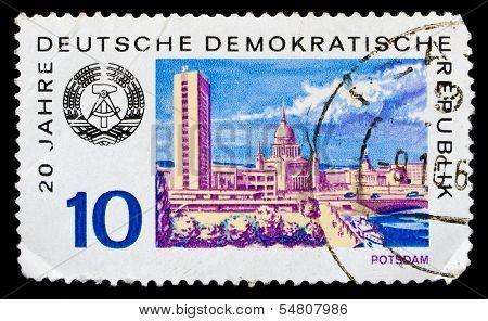 Gdr Stamp Potstdam