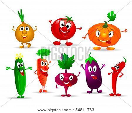 Funny Vegetables
