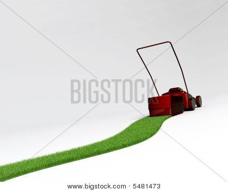 Reverse Lawnmover