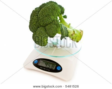 Broccoli At Scales