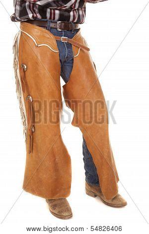 Cowboy Chaps Close Up
