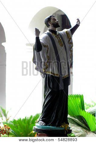 St. Francis Xavier Statue In Goa