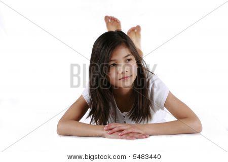 Beautiful Ten Year Old Girl
