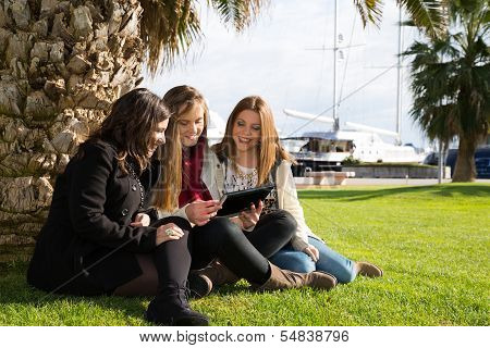 Young Female Students