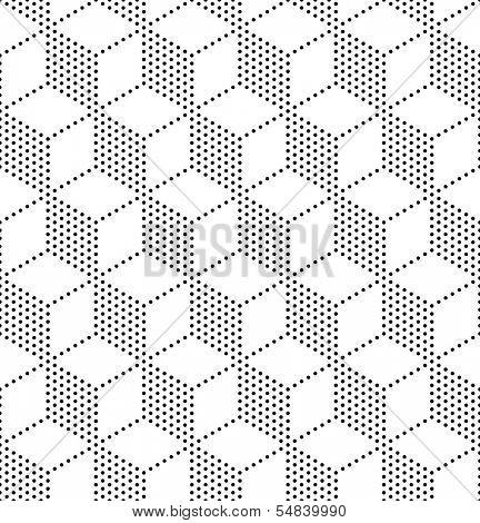 3d Seamless Cubes Pattern