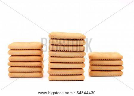 Stakes saltine soda cracker.