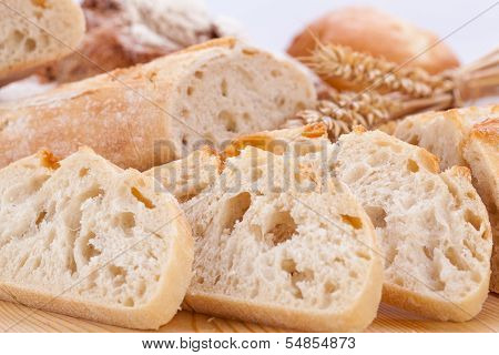 Fresh Tasty Mixed Bread Slice Bakery Loaf
