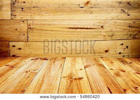 Old Wood Of Oak Color.
