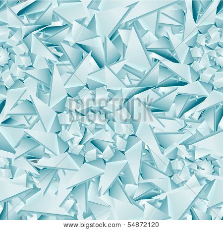 Seamless ice pattern. vector illustration, EPS 10