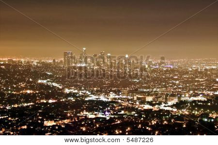 Downtown-los Angeles Skyline