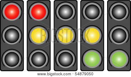 Traffic Light. Variants