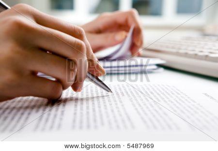 schreibarbeit