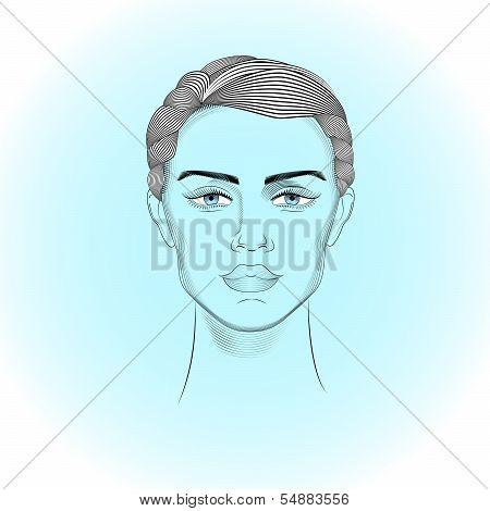 Portrait Of Androgyne