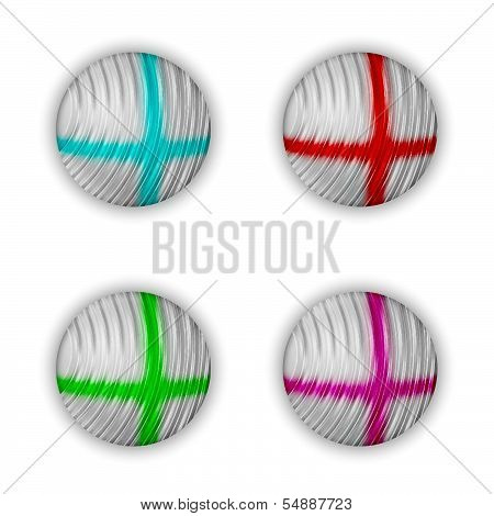 Vector Abstract Balls